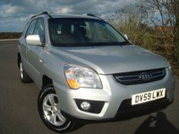 2009 KIA SPORTAGE 2.0 XE 5d 140 BHP £3495.00