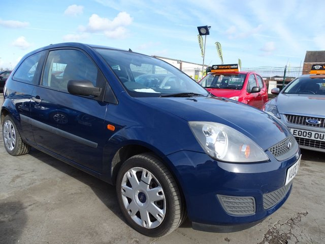 USED 2008 08 FORD FIESTA 1.2 STYLE VERY LOW MILES 34K FSH