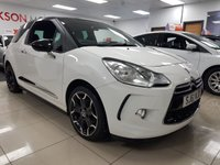 USED 2011 61 CITROEN DS3 1.6 DSPORT HDI 3d+LOW MILES+BLACK ROOF+BLACK ALLOYS+