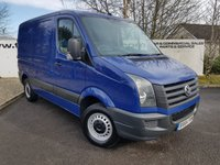 USED 2014 64 VOLKSWAGEN CRAFTER 2.0 CR30 TDI L1 H1 SWB LR 110 BHP **80 VANS IN STOCK**