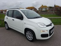 USED 2015 65 FIAT PANDA 1.2 EASY 5d 69 BHP, WHITE. 23300 MILES ONLY. Road Tax £30 pa