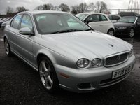 USED 2008 08 JAGUAR X-TYPE 2.2 SPORT PREMIUM 4d 155 BHP Sat nav - Heated leather seats