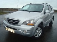 2007 KIA SORENTO 2.5 XS 5d 168 BHP £3995.00