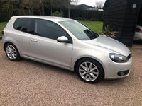 USED 2010 10 VOLKSWAGEN GOLF 2.0 GT TDI 3d 138 BHP Lovely drive...Cam belt been changed at 80826 miles... 2 keys