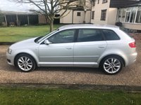 USED 2011 AUDI A3 2.0 SPORTBACK TDI SPORT 5d 138 BHP Lovely stunning car.. Cambelt changed 75593miles 2 keys