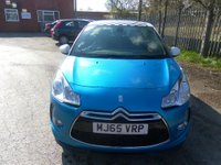 USED 2015 65 DS DS 3 1.2 PURETECH DSTYLE S/S 3d 109 BHP