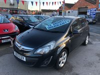 USED 2012 12 VAUXHALL CORSA 1.2 SXI AC 5d 83 BHP *** 12 MONTHS WARRANTY ***