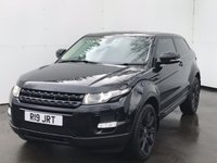 USED 2011 61 LAND ROVER RANGE ROVER EVOQUE 2.2 SD4 PRESTIGE 3d 190 BHP + PRIVATE PLATE INCLUDED IN THE SALE + GREAT FULL SERVICE HISTORY + UK DELIVERY POSS + BLUETOOTH  + FULL BLACK HEATED  LEATHER TRIM+ SATELLITE NAVIGATION WITH REAR VIEW CAMERA