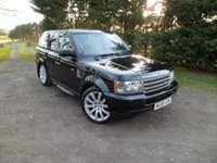 USED 2008 08 LAND ROVER RANGE ROVER SPORT 2.7 TDV6 SPORT S 5d AUTO 188 BHP NEW AIR COMPRESSOR. FANTASTIC CONDITION, NEW TIMING BELT, FULL LEATHER, STUNNING EXAMPLE, 12 MONTHS MOT
