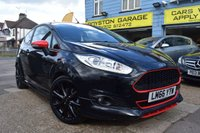 2016 FORD FIESTA 1.0 ZETEC S BLACK EDITION 3d 139 BHP £9999.00