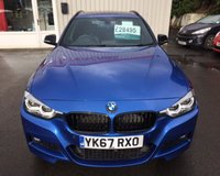 USED 2017 67 BMW 3 SERIES 3.0 335D XDRIVE M SPORT SHADOW EDITION TOURING 5d AUTO 308 BHP
