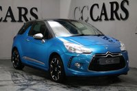 USED 2011 11 CITROEN DS3 1.6 DSPORT 3d 155 BHP Bluetooth Connectivity, 17 Inch Gloss Black / Polished Silver Alloys, Front and Rear Park Distance Control, Digital Climate Control, Privacy Glass, On-board Computer