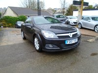 USED 2007 07 VAUXHALL ASTRA 1.9 TWIN TOP DESIGN 3d 150 BHP