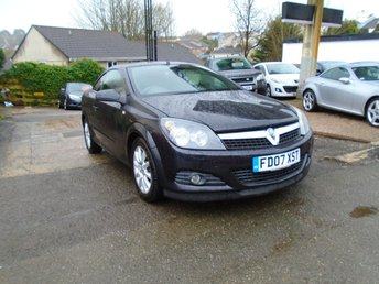 2007 VAUXHALL ASTRA 1.9 TWIN TOP DESIGN 3d 150 BHP £1495.00