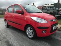 2011 HYUNDAI I10 1.2 comfort 1 owner 14000 miles 7 service stamps £3995.00