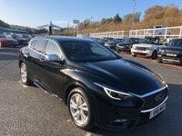 USED 2016 16 INFINITI Q30 1.5 BUSINESS EXECUTIVE D 5d AUTO 107 BHP Metallic Black, Black leather, Sat Nav, very efficient auto diesel