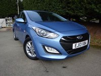 2013 HYUNDAI I30 1.6 ACTIVE BLUE DRIVE CRDI 5d 109 BHP £5795.00