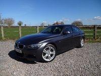 2014 BMW 3 SERIES 2.0 320D M SPORT 4d AUTO 181 BHP £12490.00