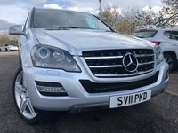 2011 MERCEDES-BENZ M CLASS 3.0 ML350 CDI BLUEEFFICIENCY GRAND EDITION 5d 231 BHP £14750.00
