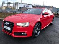 2013 AUDI A5 Audi A5 3.0 TDI SLINE QUATTRO £14250.00