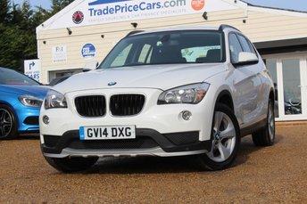 2014 BMW X1 2.0 SDRIVE20D EFFICIENTDYNAMICS 5d 161 BHP