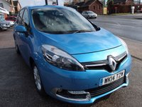 2014 RENAULT SCENIC 1.5 DYNAMIQUE TOMTOM ENERGY DCI S/S 5d 110 BHP £6995.00