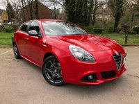 USED 2016 ALFA ROMEO GIULIETTA  1.7 TBi Quadrifoglio Verde Hatchback 5dr Petrol ALFA TCT (157 g/km, 240 bhp) COMPETIZIONE RED