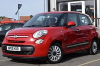 USED 2013 FIAT 500L 1.4 POP STAR 5d 95 BHP Full Service History With 4 Stamps.Also Has New Mot.