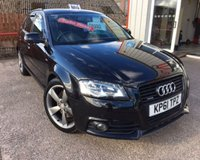 USED 2011 61 AUDI A3 2.0 SPORTBACK TDI QUATTRO S LINE SPECIAL EDITION 5d 168 BHP