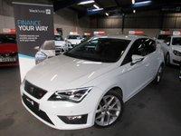 2013 SEAT LEON 2.0 TDI FR TECHNOLOGY DSG 5d AUTO 150 BHP £9690.00