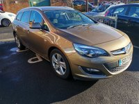 USED 2013 13 VAUXHALL ASTRA 2.0 SRI CDTI S/S 5d 163 BHP ONLY 32513 MILES... SERVICE HISTORY!..CHEAP TO RUN, LOW CO2 EMISSIONS (124G/KM) , LOW ROAD TAX AND EXCELLENT FUEL ECONOMY! EXCELLENT SPECIFICATION INCLUDING AIR CONDITIONING,  ALLOY WHEELS