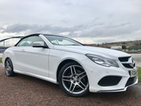 USED 2014 N MERCEDES-BENZ E CLASS 2.1 E220 CDI AMG SPORT 2d AUTO 170 BHP **HEATED SEATS**