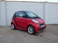 2012 SMART FORTWO 1.0 PASSION MHD 2d AUTO 71 BHP £4288.00