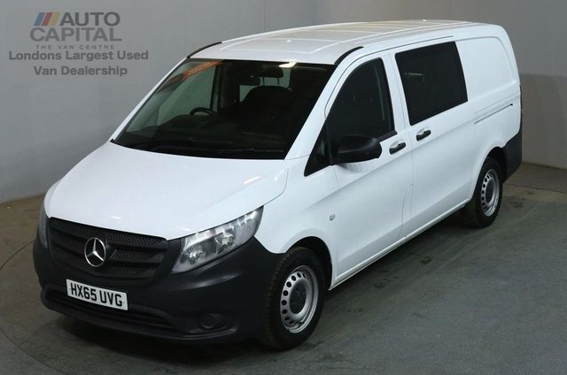 2015 65 MERCEDES-BENZ VITO 1.6 111 CDI 114 BHP LWB 6d COMBI 6 SEATER AIR CON  AIR CONDITIONING LOW MILEAGE