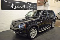 USED 2012 61 LAND ROVER RANGE ROVER SPORT 3.0 SDV6 HSE 5d AUTO 255 BHP MY2012 - ONE PREVIOUS KEEPER - 5 STAMPS TO 67K - LEATHER - NAV - H/SEATS - SIDE STEPS - R/CAMERA - PRIVACY GLASS