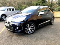 2015 DS DS 3 1.6 BLUEHDI DSTYLE NAV S/S 3d FREE TAX, SAT NAV, ONLY 31K  £7490.00