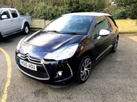 USED 2015 15 DS DS 3 1.6 BLUEHDI DSTYLE NAV S/S 3d FREE TAX, SAT NAV, ONLY 31K  FREE TAX, ONLY 1 FORMER KEEPER, MAIN DEALER HISTORY,