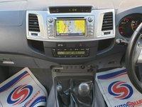 USED 2012 12 TOYOTA HI-LUX 3.0 INVINCIBLE 4X4 D-4D DCB 1d 169 BHP