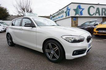 2016 BMW 1 SERIES 118D 2.0 SPORT 5DR ( SAT NAV & 30,000 MILES ! ) £12489.00