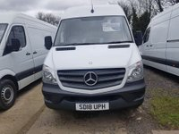 2018 MERCEDES-BENZ SPRINTER 2.1 314CDI 1d 140 BHP £20000.00