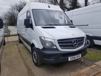 USED 2018 18 MERCEDES-BENZ SPRINTER 2.1 314CDI 1d 140 BHP READY FOR WORK