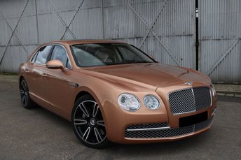 2013 BENTLEY FLYING SPUR 6.0 W12 4d AUTO 616 BHP £59990.00