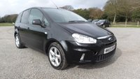 USED 2010 59 FORD C-MAX 1.6 ZETEC 5d 100 BHP 2 X KEYS, ALLOY WHEELS, AIR-CONDITIONING, CD-PLAYER, REMOTE LOCKING, ELECTRIC WINDOWS, METALLIC PAINT, ELECTRIC MIRRORS, SAME DAY FINANCE, POPULAR FAMILY MOTORING