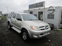 USED 2007 07 TOYOTA HI-LUX 2.5 HL2 SWB 4X4 DCP 1d 103 BHP