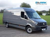 USED 2017 17 VOLKSWAGEN CRAFTER 2.0 CR35 TDI P/V L BMT 1d 107 BHP 1 Owner, Full Service History, Air Conditioning, Beautiful LWB Van