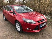 2011 FORD FOCUS 1.6 TITANIUM 5d 124 BHP £5850.00