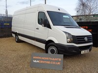 2016 VOLKSWAGEN CRAFTER 2.0 CR35 TDI HIGH ROOF BMT 5d 109 BHP £11990.00