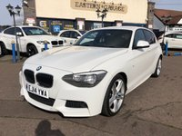 USED 2014 14 BMW 1 SERIES 2.0 116D M SPORT 5d 114 BHP