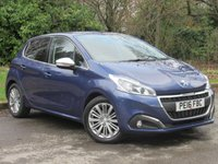 USED 2016 16 PEUGEOT 208 1.6 BLUE HDI S/S ALLURE 5d 100 BHP FULL TOUCH SCREEN MEDIA PACKAGE