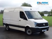 USED 2016 66 VOLKSWAGEN CRAFTER 2.0 CR35 TDI H/R P/V 1d 107 BHP 1 Owner, Full Service History, MWB, Immaculate Van